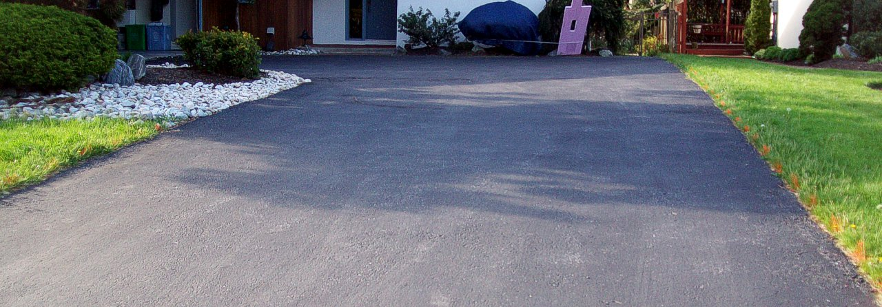paving before